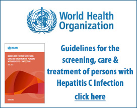 World Health Organization Hepatitus C Guidelines